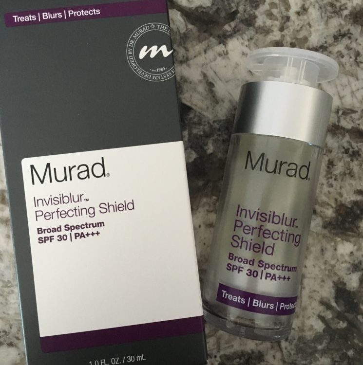 Love the packaging! Loved doing this Murad Invisiblur Perfecting Shield review!